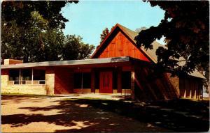 Traverse City Michigan~Asbury Methodist Church~A Frame~1950s Postcard