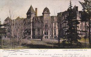 Acadia Seminary, Land of Evangeline, NOVA SCOTIA, Canada, PU-1906