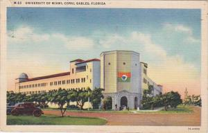 Florida Coral Gables The University Of Miami 1941 Curteich