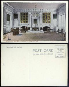 Main Room Independence Hall Philadelphia PA 1910