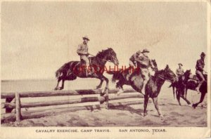 19119 CAVALRY EXERCISE, CAMP TRAVIS, SAN ANTONIO, TEXAS