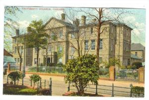 University College, Cardiff, Wales, 00-10s