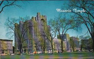 Michigan Detroit The Masonic Temple