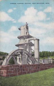 Michigan Iron Mountain Cornish Pumping Station