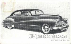 1946 Buick Super Four Door Automotive, Autos, Cards Old Vintage Antique Postc...
