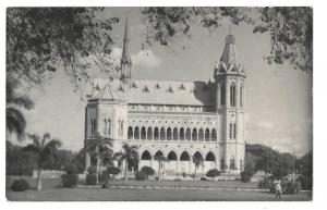 West Pakistan, Karachi, Frere Hall & Museum RP PPC, Posted to Munich