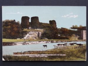 Wales RHUDDLAN CASTLE Erected by Prince Llewellyn of Wales in 1020 c1926