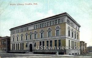 Public Library Omaha NE Unused