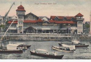 BOMBAY , India , 1900-10s ; Royal Yacht Club