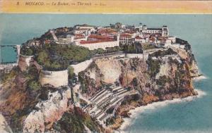 Monaco La Rocher The Rock 1919