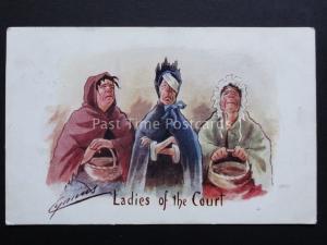 Cynicus: Three Women LADIES OF THE COURT c1904