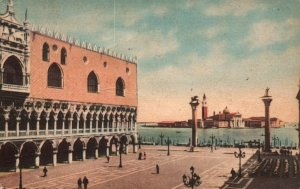 Lesser St Mark's Square,Venice,Italy BIN