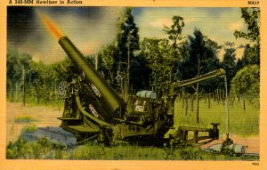 Military - Howitzer In Action