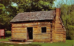 KY Postcard, Kentucky Post Card Abraham Lincoln's Boyhood Home 1811-1816...