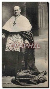 Old Postcard HE Cardinal Amette
