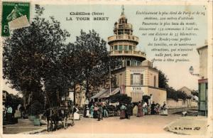 CPA CHATILLON La Tour Biret (413768)