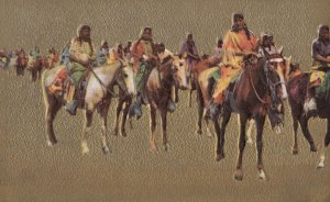 Indians on Horse back , 1900-10s