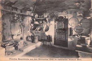 Primitive Bauernkuche aus dem Simmenthal Switzerland Unused
