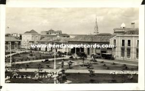 venezuela, MARACAIBO, Plaza Bolivar (1930s) Delgado RPPC (2)