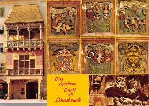 Austria Innsbruck Goldenes Dachl multiviews
