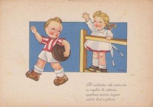 Artist Tomba ; Soccer Boy , 1920-30s