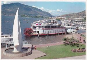 Canada Britsh Columbia Kelowna Fintry Queen Paddle WQheeler 1990
