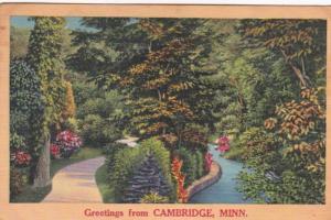 Minnesota Greetings From Cambridge 1960