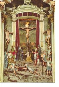 Postal 036423 : Bom Jesus-Braga. The Sanctuarys High-Altar