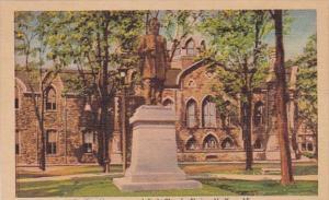 New York Elmira Beecher Monument and Park Church Dexter Press