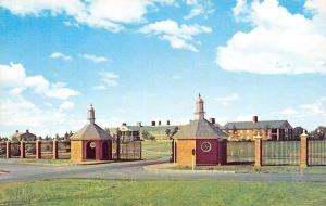 Greenville South Carolina~Entrance Gate to Furman University 1960s Postcard