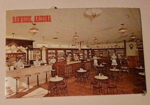 Vintage Postcard Rawhide Arizona General Store Dalton Boys Jesse James 1977