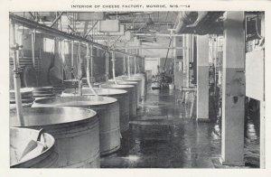 MONROE, Wisconsin , 1940-50s ; Interior of Cheese Factory