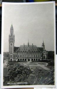 Netherlands Den Haag Vredespaleis - unposted 1938