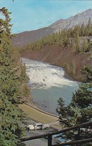 Canada Alberta Banff Bow Falls on Bow River