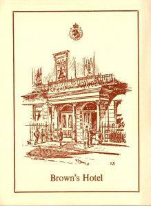 England London Brown's Hotel Albemarle Street