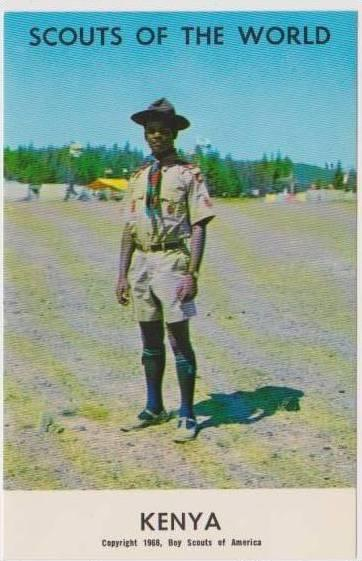 Boy Scouts of the World: #13 Kenya, 1968