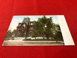 1907 postcard VERMONT Athanaeum St. Johnsbury pub Hugh Leighton Co