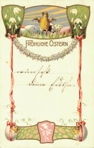 Happy Easter - Chicks Embossed Fröhliche Ostern 04.57