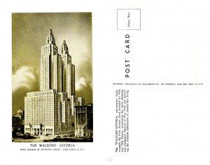 The Waldorf-Astoria, New York, New York