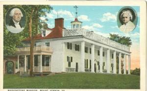 Washington's Mansion, Mount Vernon, VA, 1910s-1920s unuse...