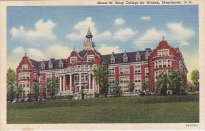 New Hampshire Manchester Mount Saint Mary College For Women