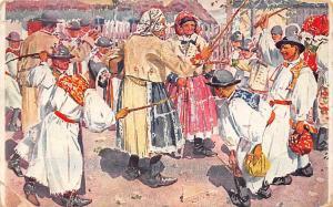 Vesele Velikonoce, Happy Easter, Minerva-Praha, Spalena, Antos Frolka