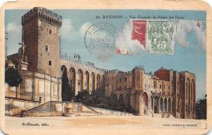 France Avignon Vue Generale du Palais des Papes Palace
