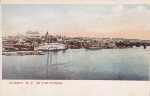 ALBANY, New York, 1901-1907; On The Hudson