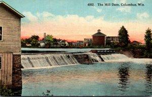 Wisconsin Columbus The Mill Dam Curteich