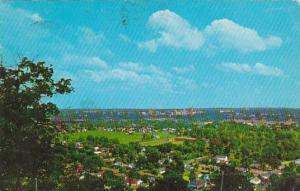 Arkansas Little Rock Panoramic View Of Little Rock 1959