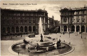 CPA ROMA Fontana delle Naiadi in Piazza Termini. ITALY (552684)