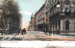 Canada Nova Scotia Halifax Hollis Street looking North 1905