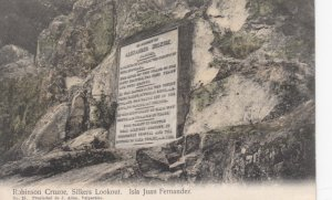 Robinson Cruzoe , Silkers Lookout. Isla Juan Fernandez , Chile , 00-10s