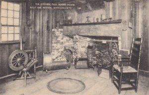 BOSTON, Massachusetts, PU-1943; The Kitchen, Paul Revere House